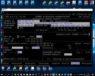 TKR 10 TKR-XML Felhasználói Kézikönyv II. 2017.09.