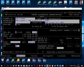 TKR Licenc ( TKR Licenc.txt ) 1983 -