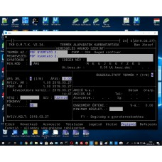 PDF nyomtató 2. ; TKR Interface, PDFCreator