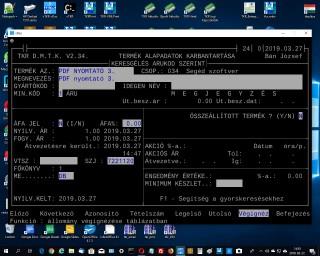 PDF nyomtató 3. ; TKR Interface, SolidPDFCreator