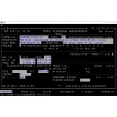TKR Shop tudáskezelő és internetes áruház 2020.01.22. Licenc