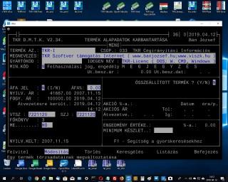 TKR Szoftver támogatás Internet  ( www.banjozsef.hu;  www.viszk.hu )