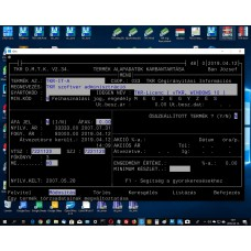 TKR szoftver adminisztráció