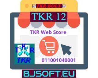 TKR Web Store 011001040001