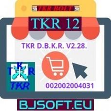 TKR D.B.K.R. V2.28. új TKR rendszerelem megőrzési díj ( UTKR-REMD ) 002002004031