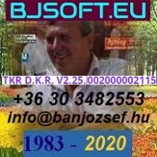 TKR D.K.R. V2.25. szoftver követés aktiválási díj ( W-SZKA ) 002000002115