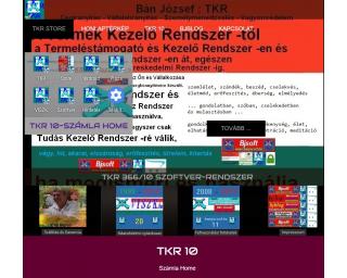 TKR-Számla Home